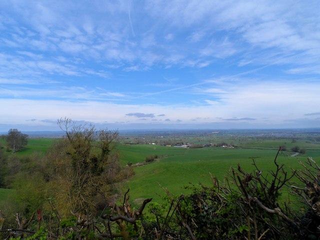 Big Staffordshire sky