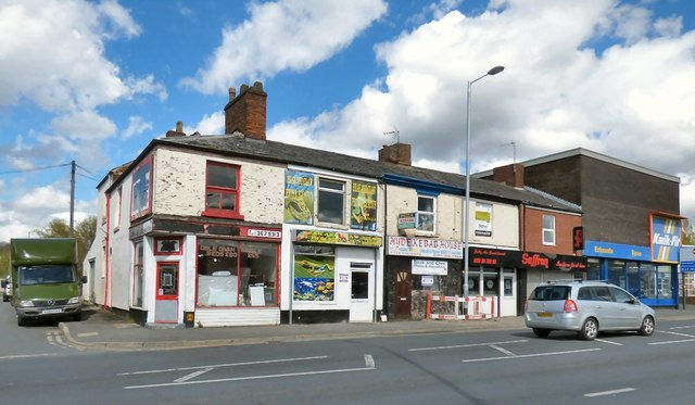 Shops on Manchester Road