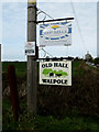 TM3674 : Farm signs at Old Hall by Adrian Cable