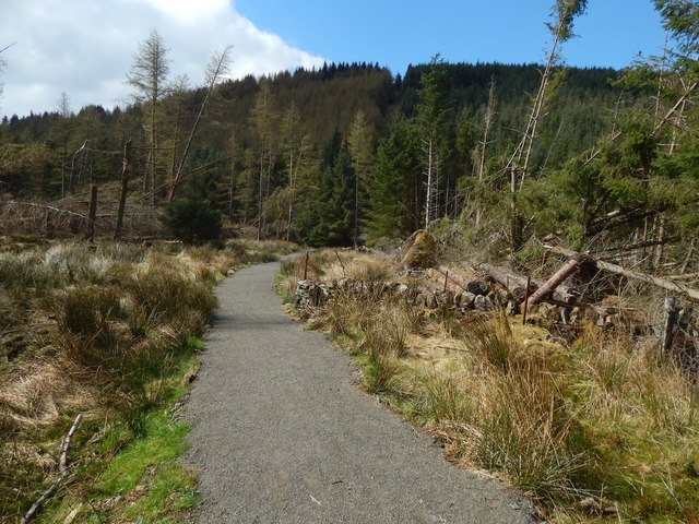 Path to Goukhill Muir