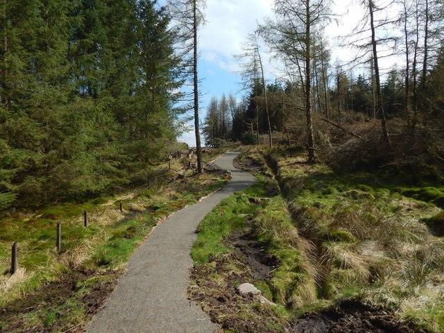 Path to Darleith Muir