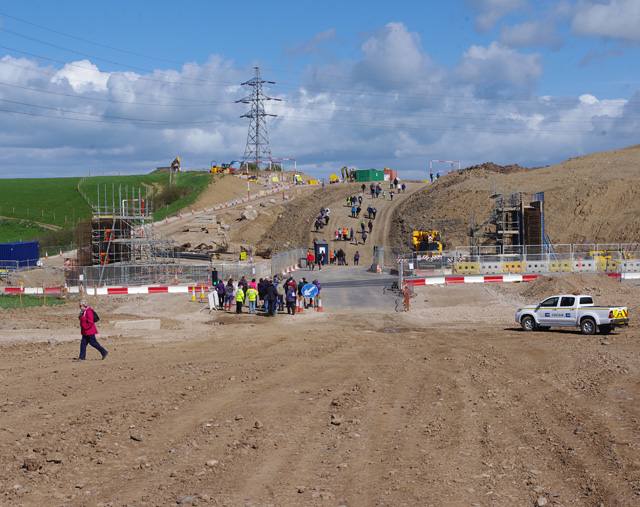Construction site, Slyne Road (A6)