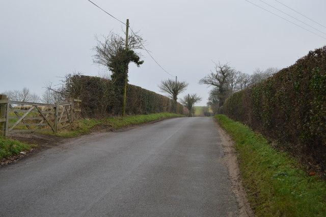 Lane north of Skipping Block