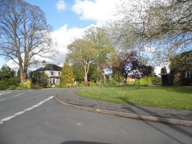 Kidmore Lane at the junction of Reade's Lane