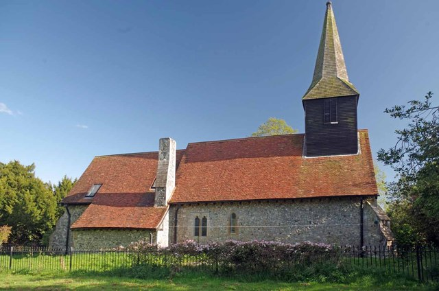The Rear of St Mary Ramsden Crays
