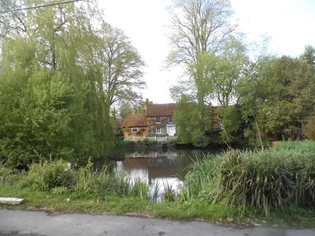 The pond at Kidmore End