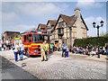 SP2055 : Fire Engine on Henley Street by David Dixon