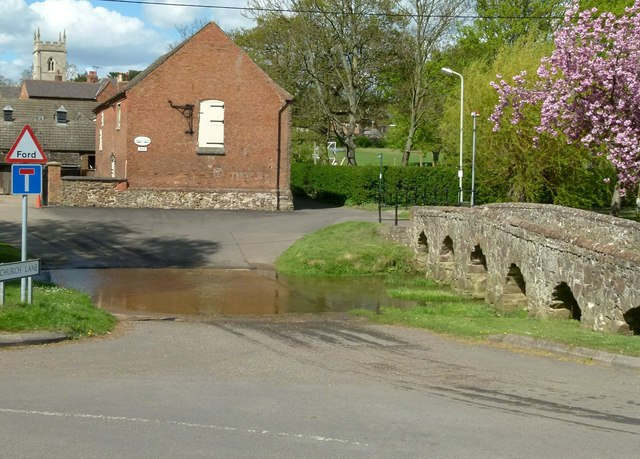 Ford and bridge at Rearsby