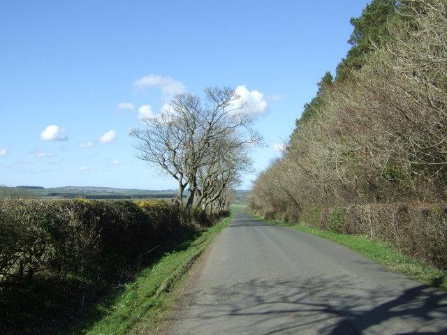 Heading towards Newton on the Moor