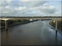 NZ2463 : New Redheugh Bridge by JThomas