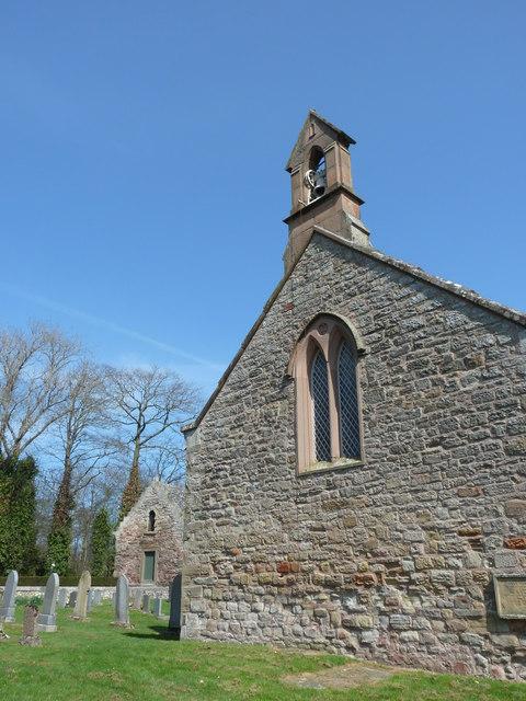 Foulden Church and Tithe Barn