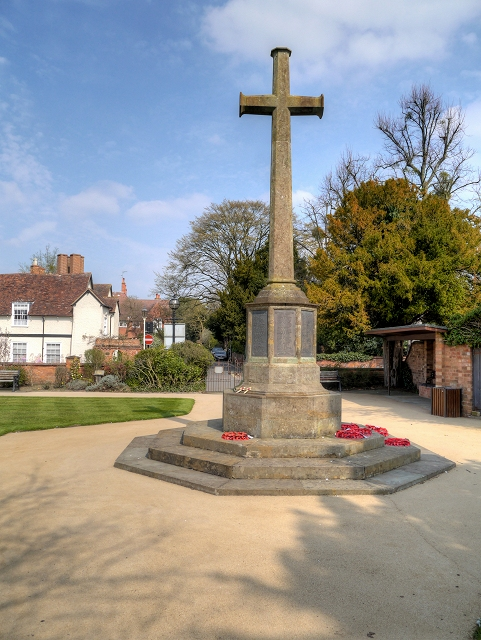 War Memorial and Remembrance Garden, Stratford-Upon-Avon