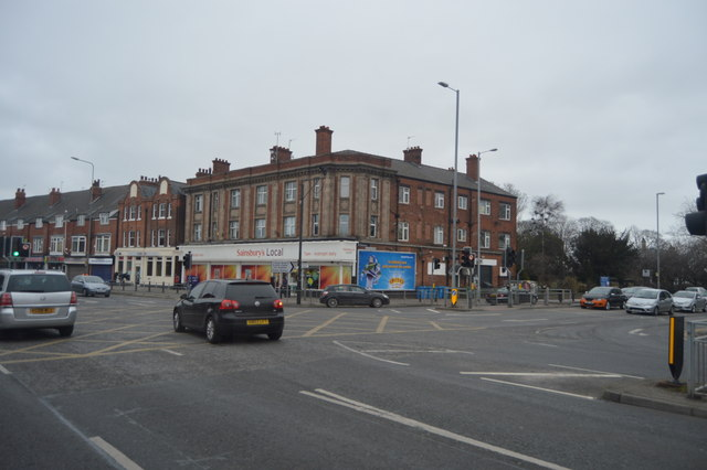 Sainsbury's local, A1079 / A1165 junction