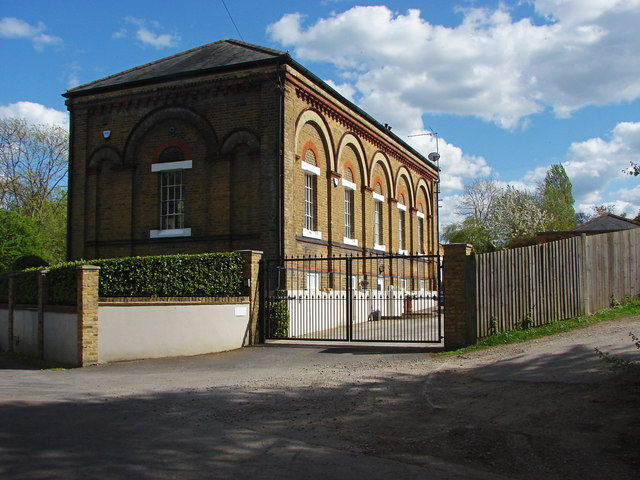 Pump house, Desborough Island