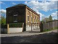 TQ0866 : Pump house, Desborough Island by Alan Hunt