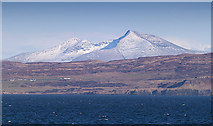 NM5233 : The island of Mull and Ben More by William Starkey