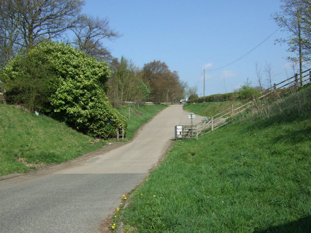Track to Nafferton Farm