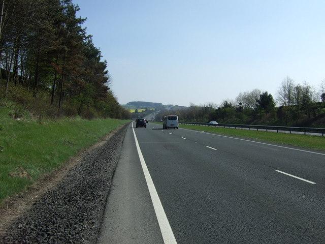 A69 towards Newcastle