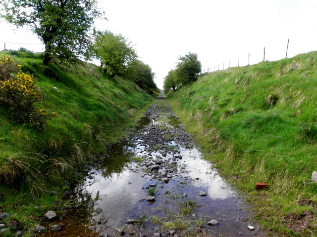 Line of former railway track, Kiltamnagh