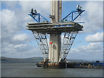 NT1279 : The Queensferry Crossing - May 2015 by M J Richardson
