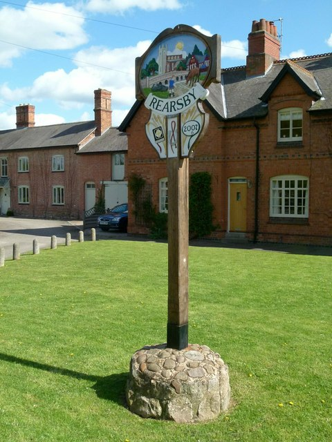 Rearsby Village sign