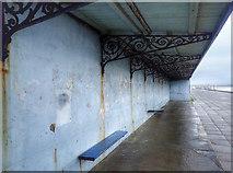 NZ3573 : Disused Promenade Shelter by Mick Garratt