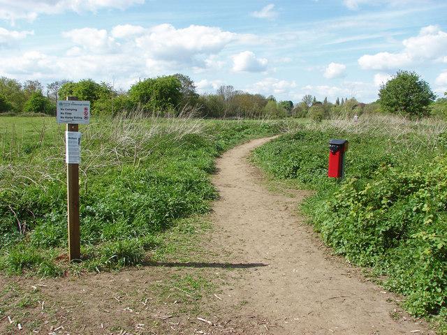 Path on Desborough Island