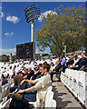 TQ2682 : Bank Holiday Monday at Lord's by John Sutton