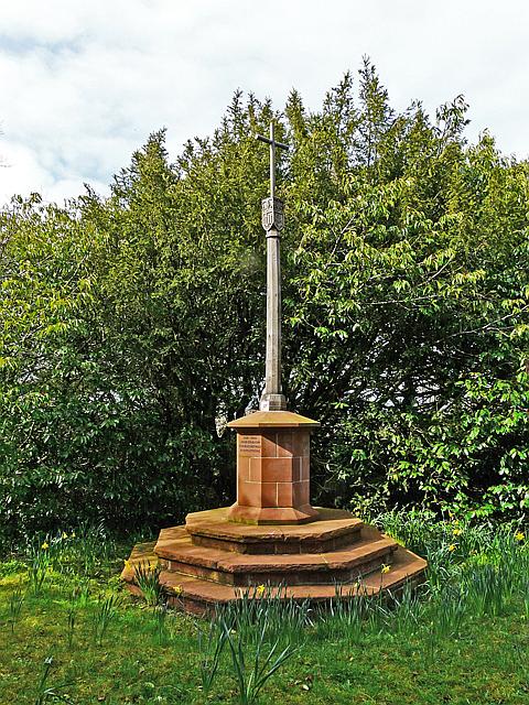 War Memorial, Cumdivock