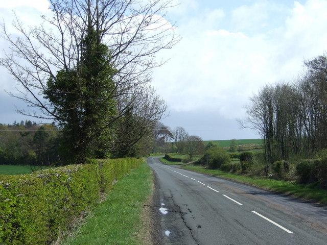 B6353 towards Fenwick