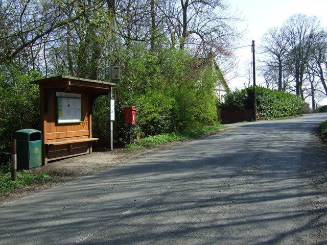 Bus stop and shelter, Medburn