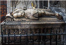 SJ9223 : The Collegiate Church of St Mary, Stafford - the Aston tomb by Mike Searle