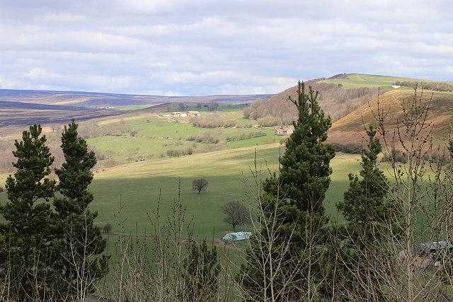 From the viewpoint at Cowhouse Bank