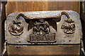 SO8286 : St Mary's Church, Enville - misericord (2) by Mike Searle