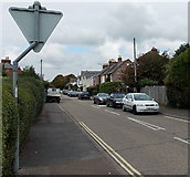 SZ3394 : Westfield Road, Lymington by Jaggery
