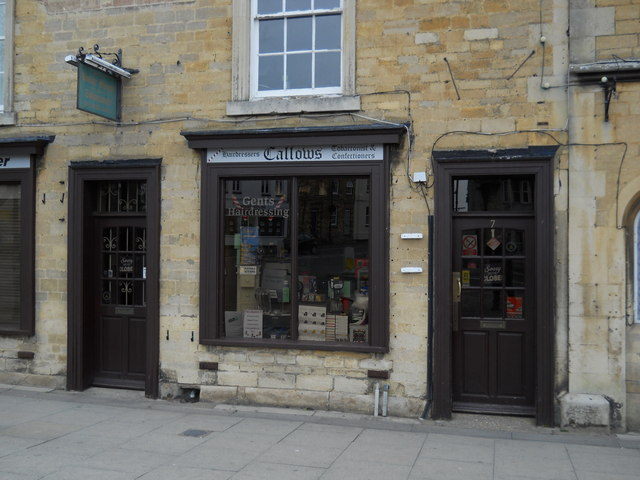 Callows barber's shop, Market Deeping