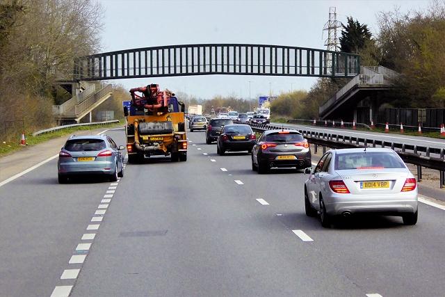 Kimbers Lane Footbridge over the A404(M)