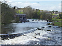 SE0063 : Linton:Lower and upper weirs by Dr Neil Clifton