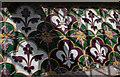 TF3691 : Tiled window sill, St Mary's church, Alvingham by J. Hannan-Briggs