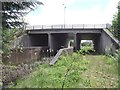SK4329 : Farm access and drain culvert under the A50 by Ian Calderwood