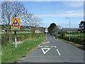 NU1033 : Traffic management scheme on the B6349, Belford by JThomas