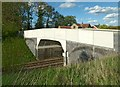 SK7118 : Fletton Bridge, Kirby Bellars by Alan Murray-Rust