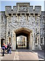 SU9776 : Windsor Castle, St George's Gateway by David Dixon