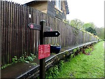 SK1971 : Old railway station on the Monsal Trail by Norman Caesar