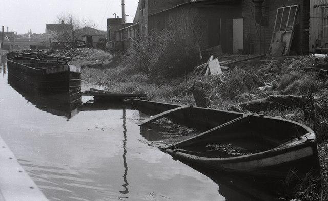 Passing Alfred Matty's Yard 1978