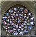 TQ1906 : Lancing College Chapel - Rose Window by Rob Farrow