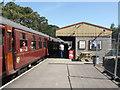 SO9525 : Cheltenham Racecourse Station by Chris Allen