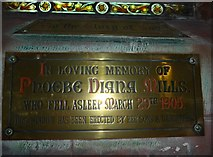 SD1779 : St George, Millom: memorial (F) by Basher Eyre