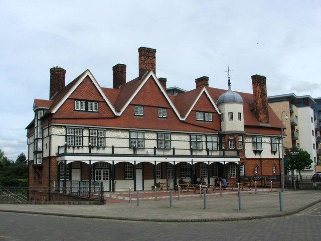 Gallions Hotel, near North Woolwich