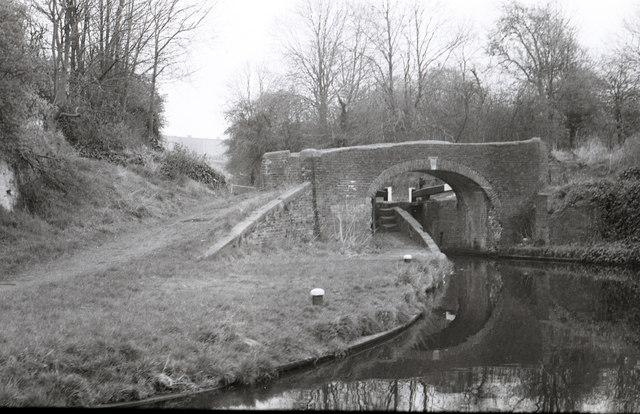 Aldersley Junction Bridge and Wolverhampton Bottom Lock